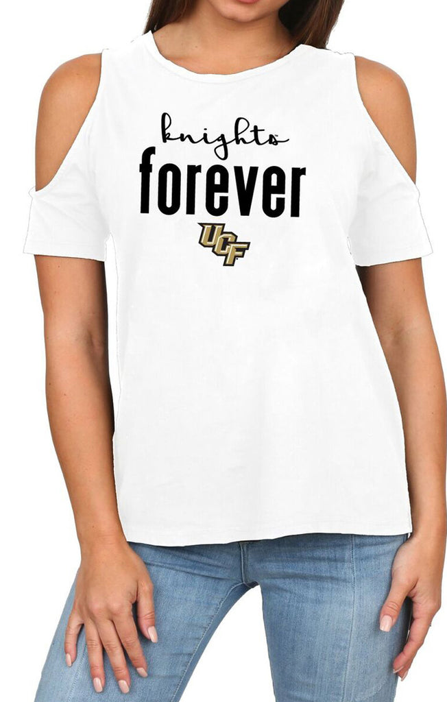 The Rachel Cold Shoulder Knights Forever Tee