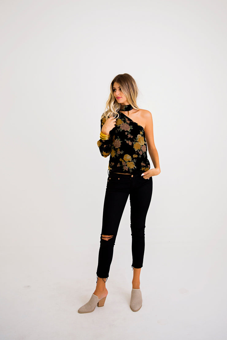 The Vicki Velvet Burn-Out One Shoulder (10329979905)