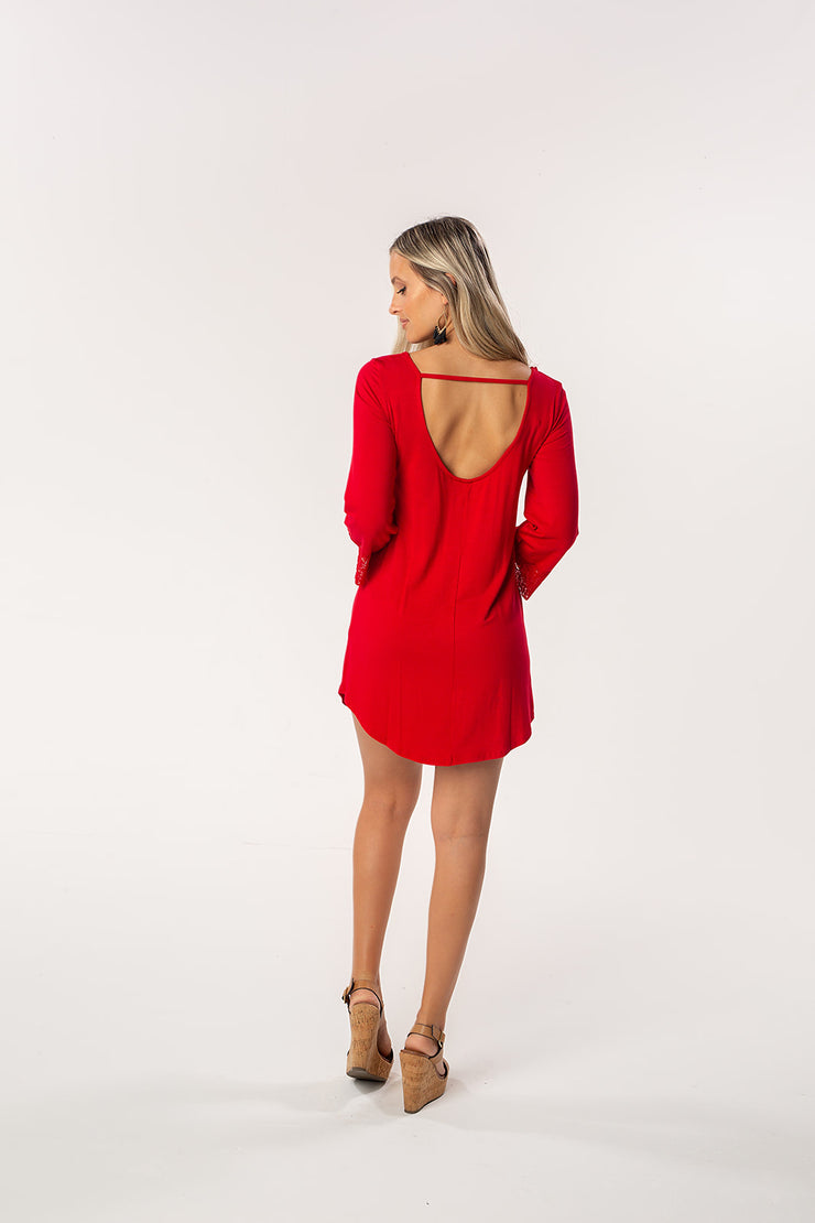 The Nikki Roll Tide Game Day Dress (1398659186736)