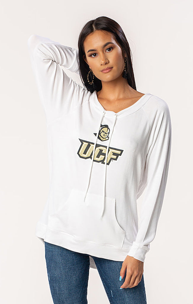 UCF Knights The Katie Cut-Out Back Pullover