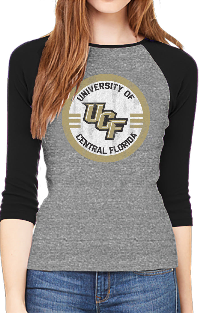 The Riley Vintage UCF Circle Baseball Tee (3857057972272)