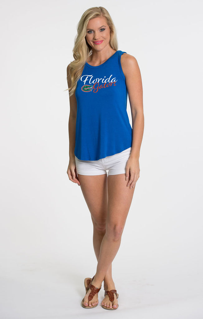 The Kristi Gators Tie Back Tank