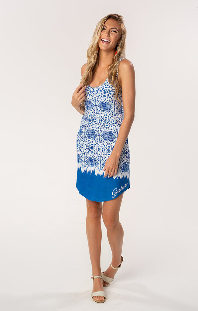 The Zoe Gators Printed Game Day Dress