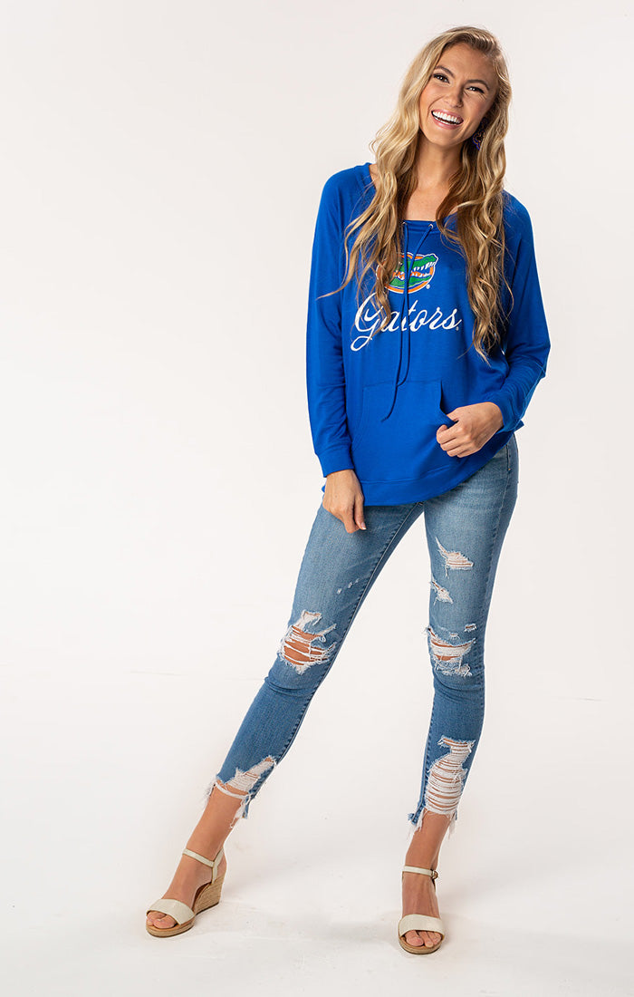 Florida Gators The Katie Cut-Out Back Pullover (1482212606000)