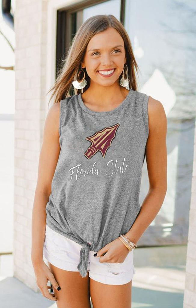 FSU Tied & True Side Tie Tank