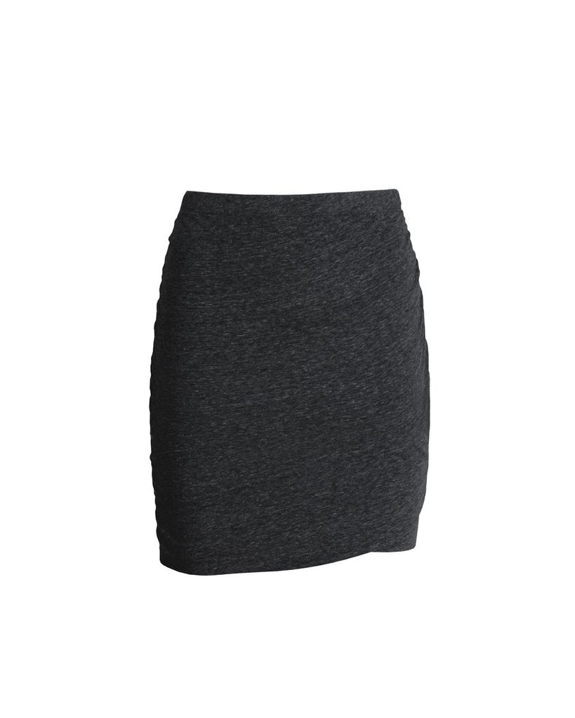 The Georgia Ruched Skirt - Black