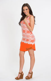 The Zoe Hurricanes Printed Game Day Dress (583767621665)