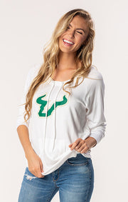 USF Bulls The Katie Cut-Out Back Pullover (1482220699696)