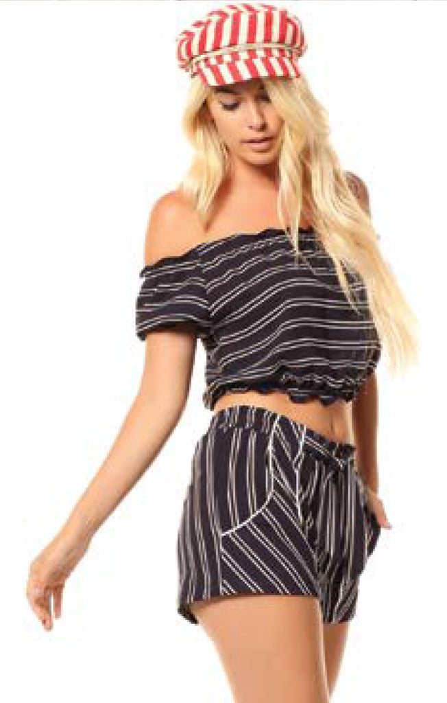 The Bree Stripe Top