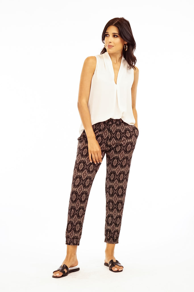 The Zayden Geometric Print Jogger