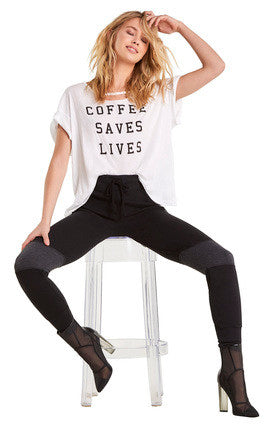 Coffee Saves Lives Rivo Tee
