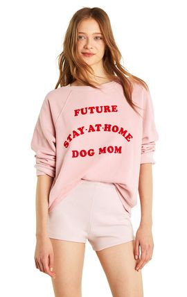 Dog Mom Sommers Sweater -Taupe Rose