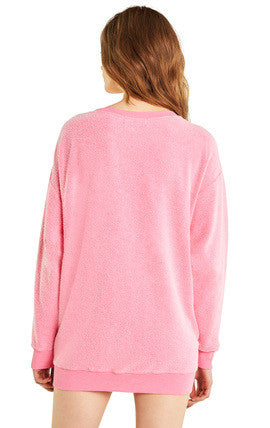 Roadtrip Sweater - Neon Magenta