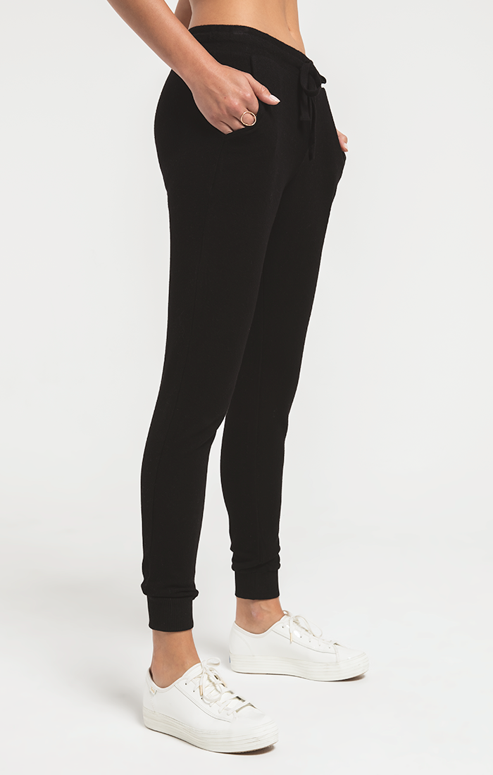 The Marled Jogger (Black)