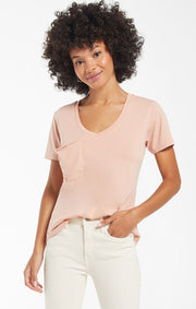The Pocket Tee (Soft Peach)