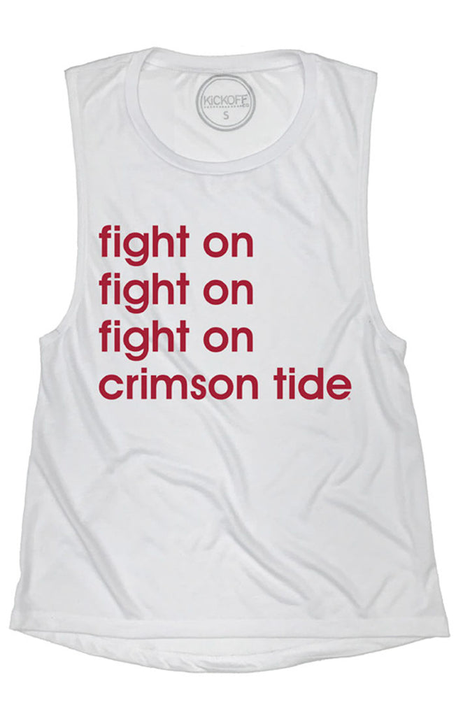 Alabama Anthem Muscle Tank