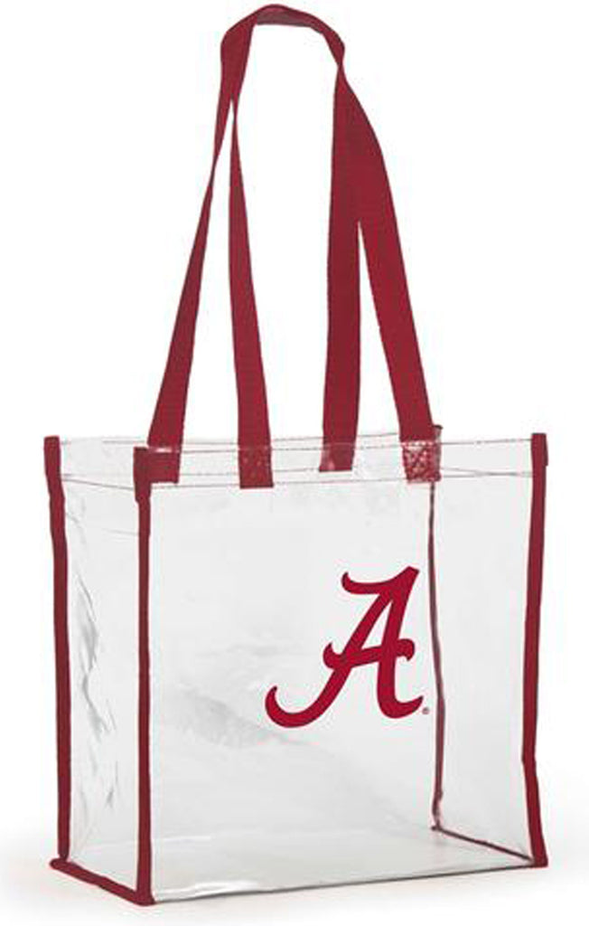 Alabama Clear Stadium Tote Clear Bag Desden - Bows and Arrows FSU Seminoles and UF Gators Women's Game Day Dresses and Apparel