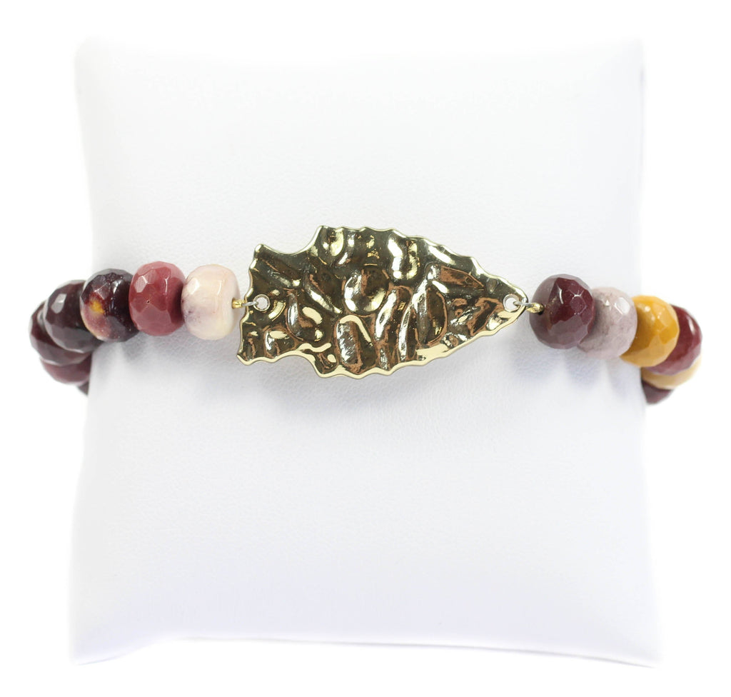Bourbon and Boweties - The Arrow Beaded Bracelet Bracelet Bourbon and Boweties - Bows and Arrows FSU Seminoles and UF Gators Women's Game Day Dresses and Apparel