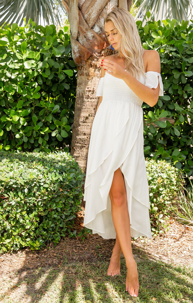 The Athena Dress (White)