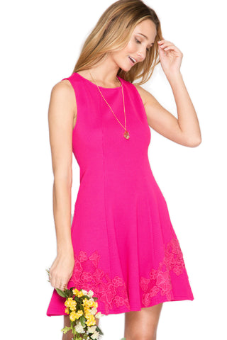 Ever Hot Pink Electric Dress