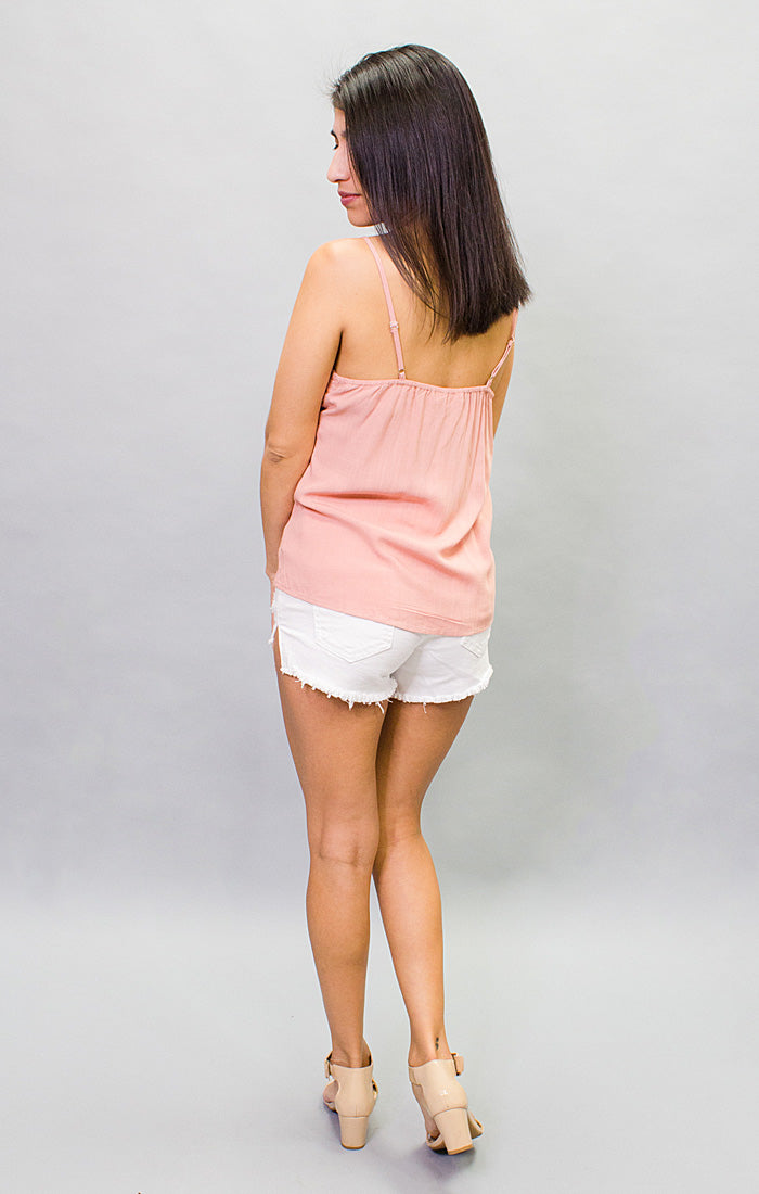 The Sunny Isles Cami - Dusty Pink (4447080906800)