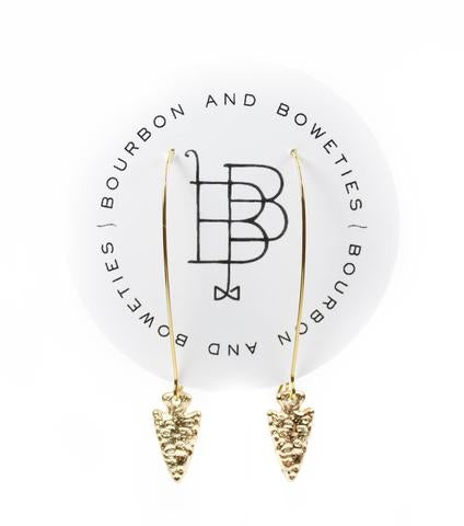 Bourbon and Boweties - Hoop Arrow Earring Earrings Bourbon and Boweties - Bows and Arrows FSU Seminoles and UF Gators Women's Game Day Dresses and Apparel