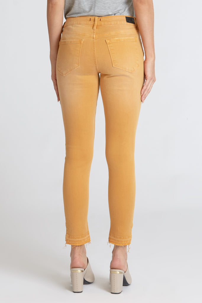 The Joyrich Honey Gold Ankle Skinny Denim