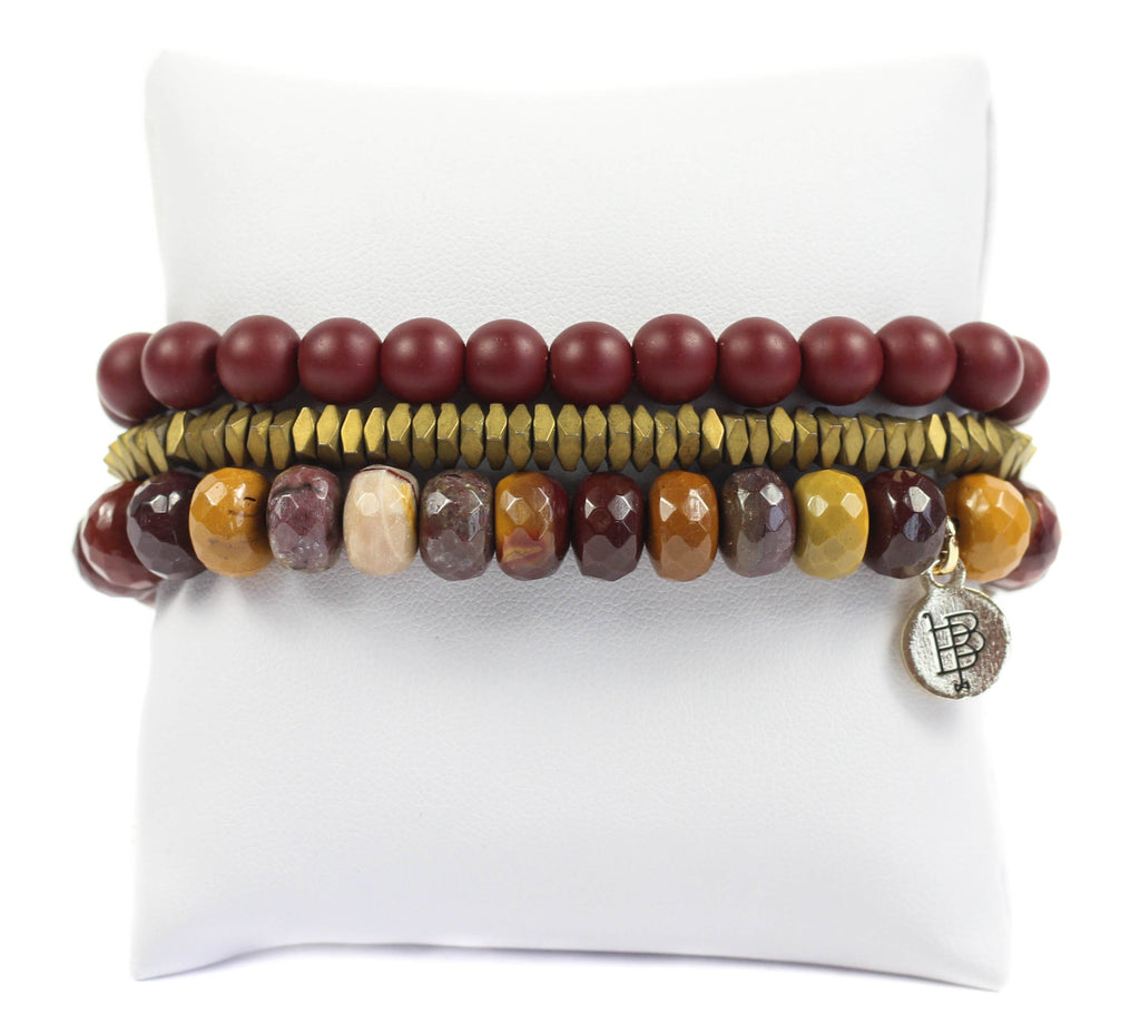 Bourbon and Boweties - The Chief Stretchy Stack Bracelet Bourbon and Boweties - Bows and Arrows FSU Seminoles and UF Gators Women's Game Day Dresses and Apparel