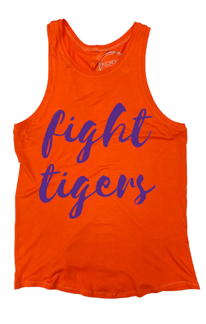 Fight Tigers Legend Open Back Tank (3771627765808)