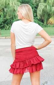 The Date Night Smocked Skirt