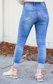 The High-Rise Classic Skinny (Medium Wash)
