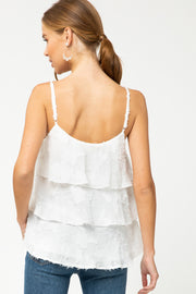 The Trinity Textured Lace Cami (4452349640752)