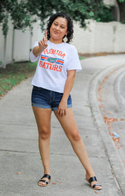 The Erin Vintage Florida Gators Cropped Tee