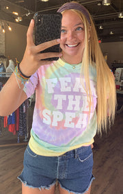 Fear the Spear Tie Dye Tee