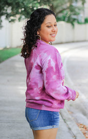 Fear the Spear Dream On Tie Dye Pullover