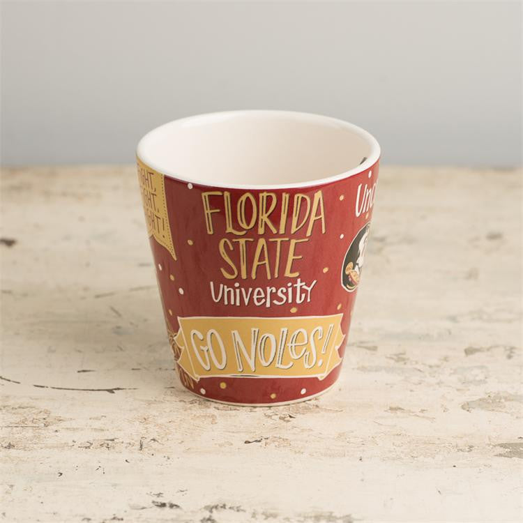 Florida State Collegiate Coffee Mug Coffee Mug Glory Haus - Bows and Arrows FSU Seminoles and UF Gators Women's Game Day Dresses and Apparel