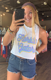 Florida Gators Spring Fling Crop Tank