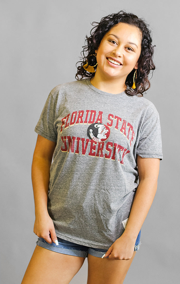 The FSU Vintage Triblend Boyfriend Tee