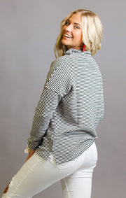 Alabama Crimson Tide Sunday Funday Funnel Neck Knit Top