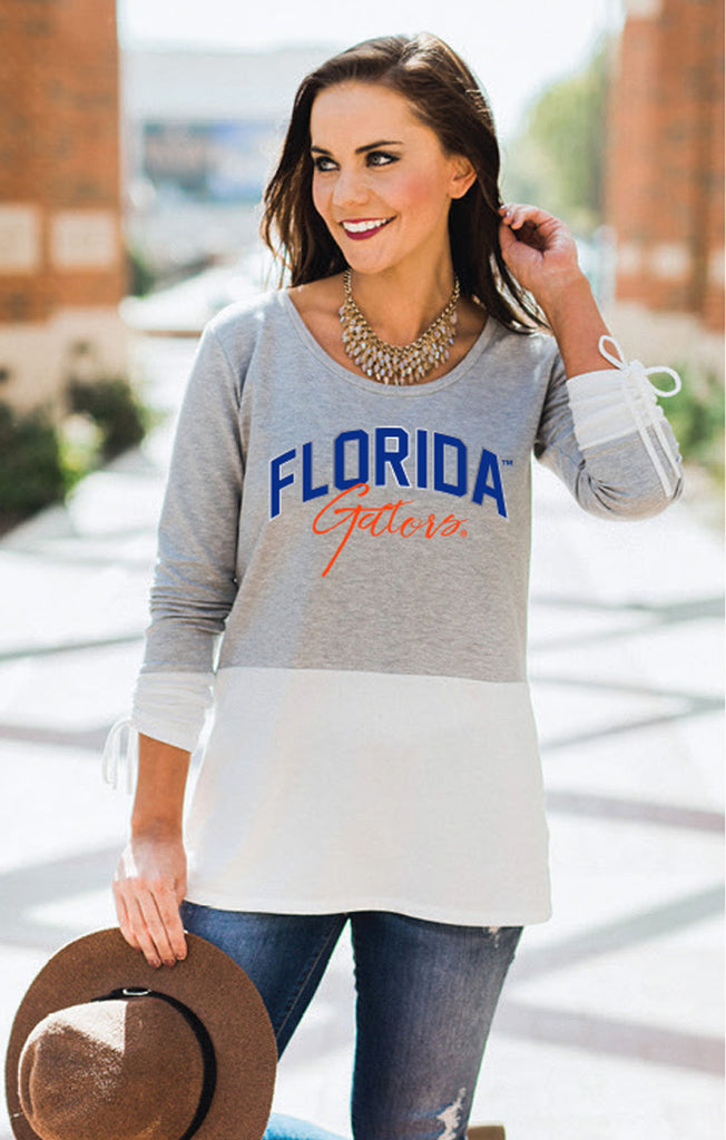 Florida Gators Calling the Shots Color Block Top
