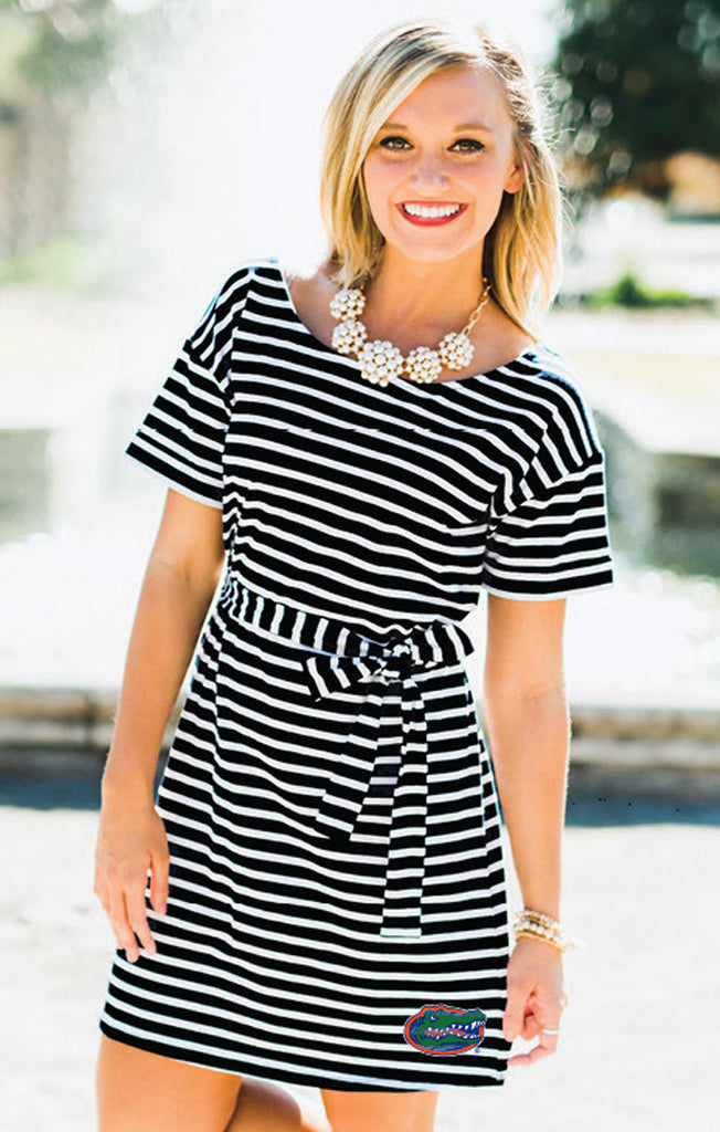 Gators Pretty Little Striped Dress