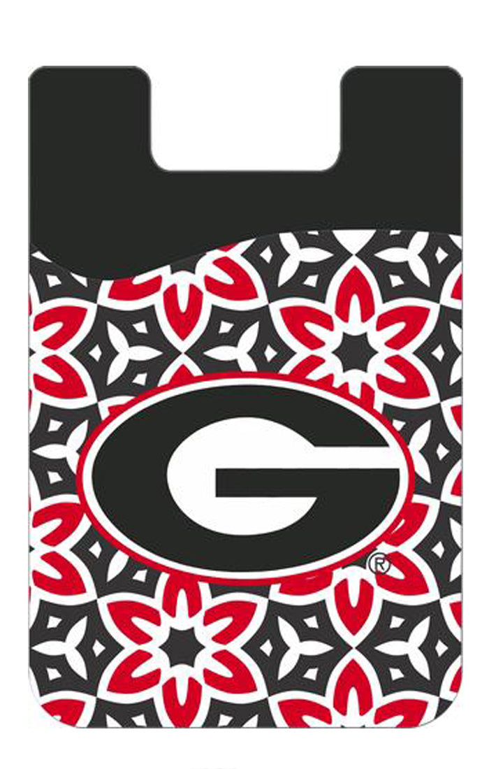 Georgia Dawgs Cell Phone Wallet (582530498593)