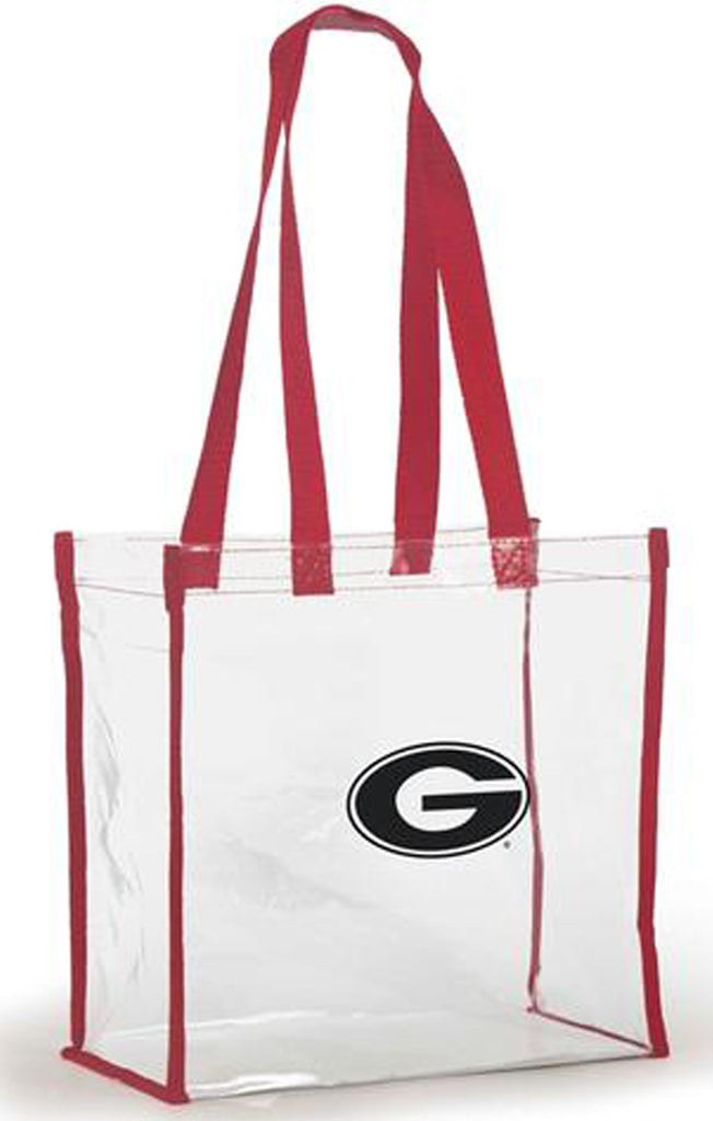 Georgia Clear Stadium Tote