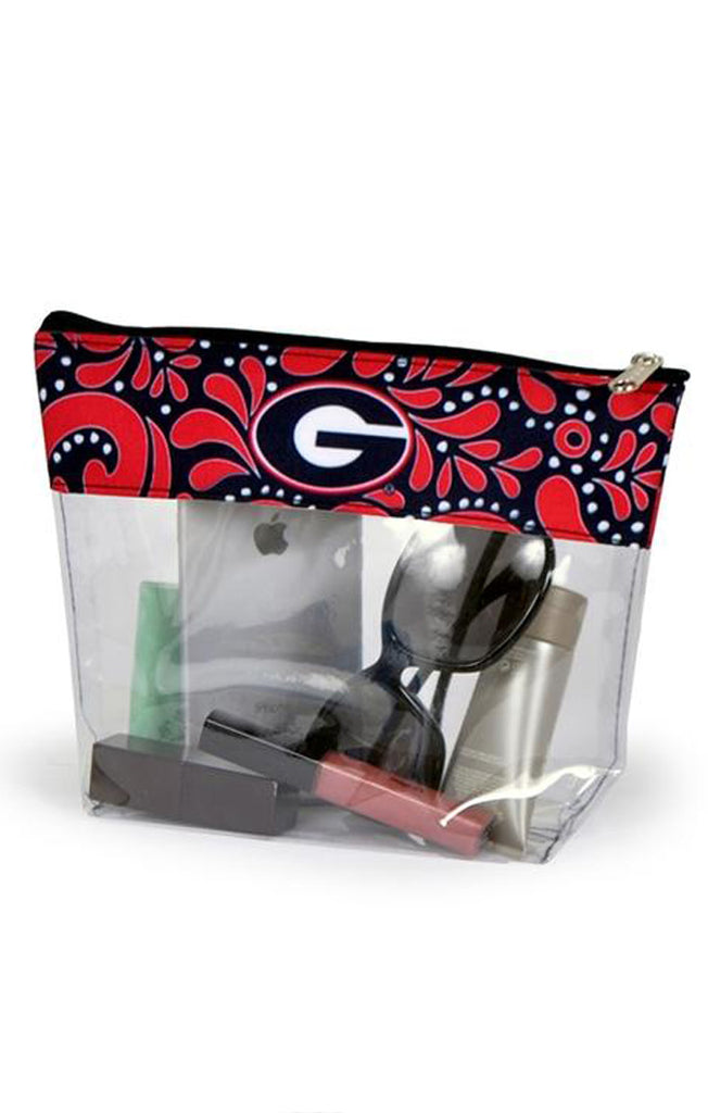 Georgia Clear Travel Pouch
