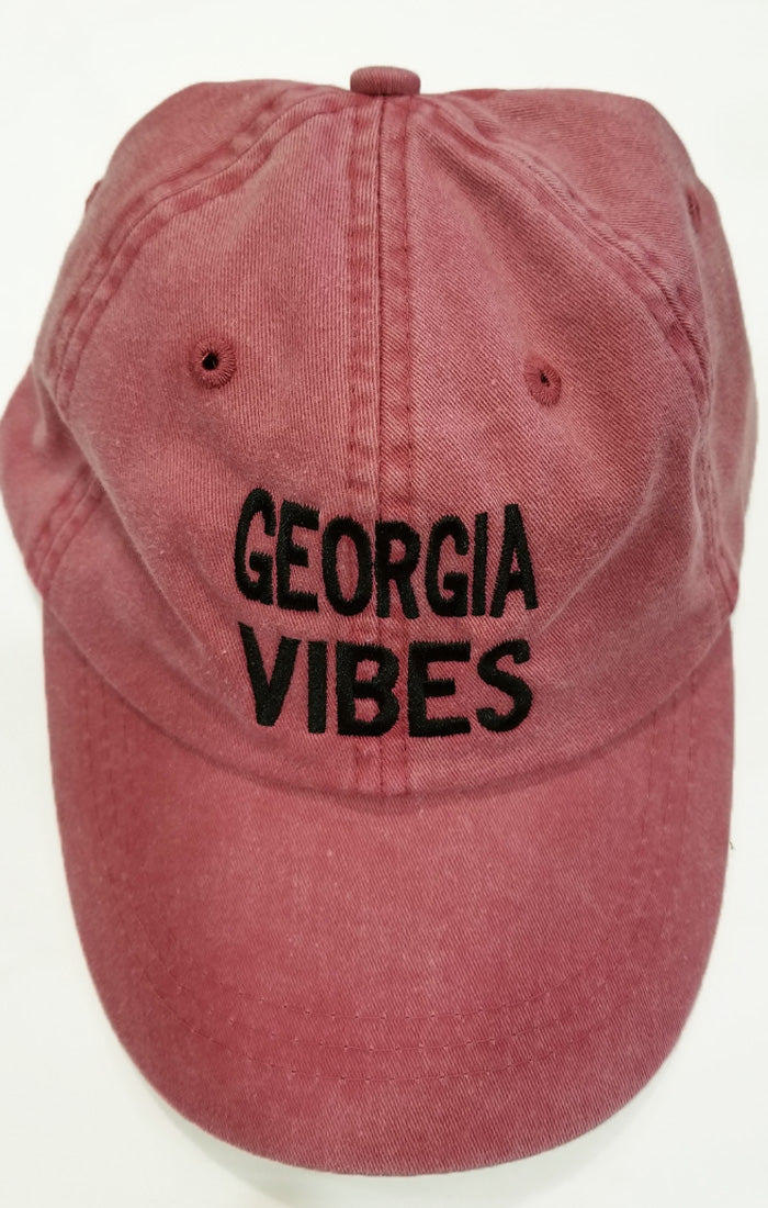 University of Georgia Bulldogs Women s Apparel - Bows and Arrows Georgia  Vibes Hat - Vintage Red – Bows and Arrows Co 7faa16f75a