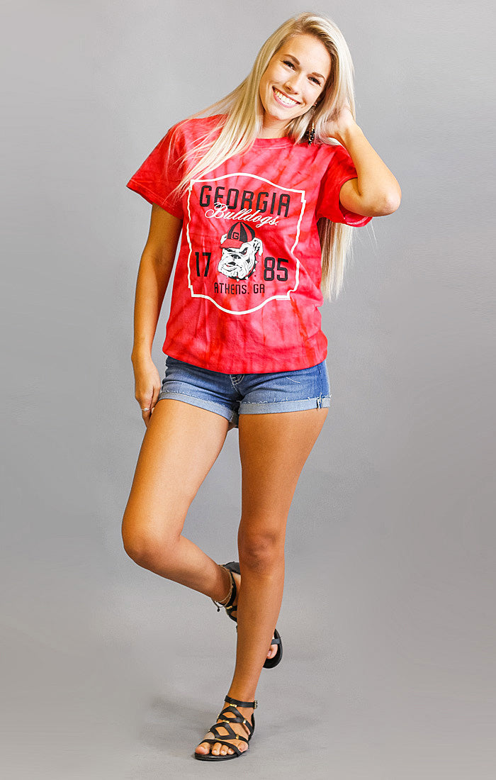 The Georgia Tie Dye Boyfriend Tee