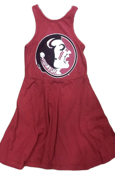 Girls Classic Seminole Tank Dress