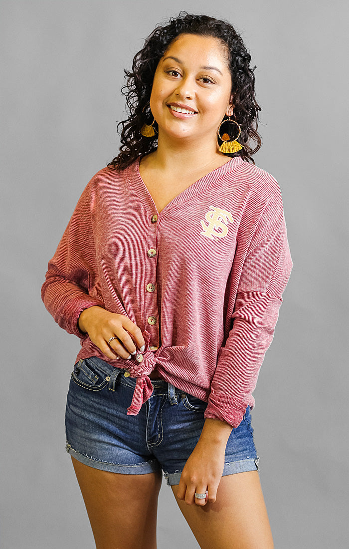 The Hazel Florida State Button Front Thermal