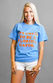 "The ""It's Great"" Gators Garment Dyed Crew"