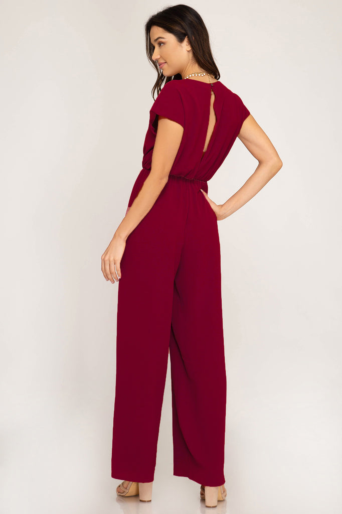 The Renegade Garnet Jumpsuit